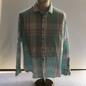 D10-6 Alfani regular fit drees shirt size L